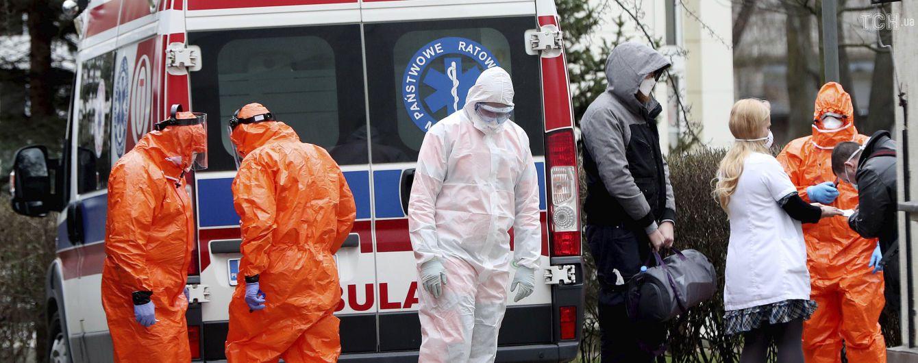 У Польщі виявили вже понад тисячу випадків коронавірусу: кількість померлих знову зросла