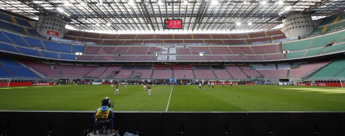 Серия А понесет серьезные финансовые убытки в случае досрочного завершения сезона