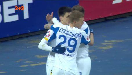 Динамо – Десна – 1:0. Видео гола Русина