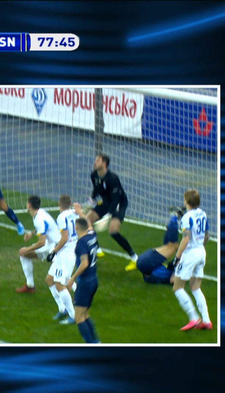 Динамо – Десна - 1:0. Гол Старенького не засчитали из-за офсайда после проверки VAR