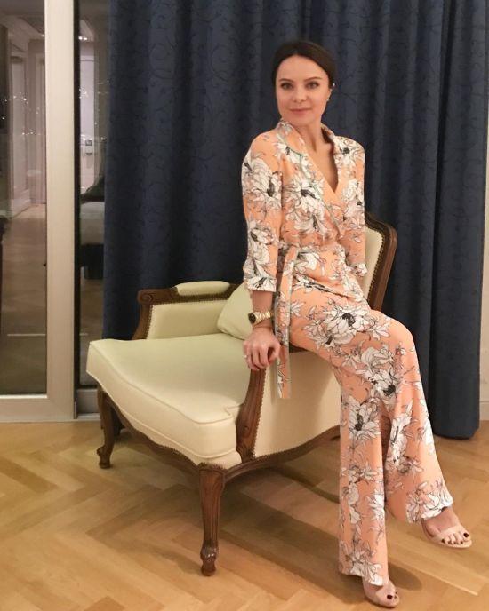 41-річна Лілія Подкопаєва у купальнику продемонструвала фігуру після пологів
