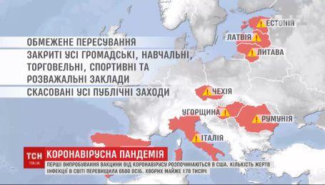 Коронавірусна пандемія: у Польщі захворіли українці, а в Європі вводять суворіші обмеження