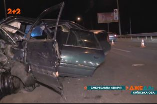 Смертельна потрійна аварія поблизу Ірпеня: двоє людей загинуло
