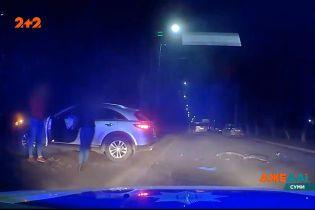 Преследование нетрезвого водителя закончилось тройной аварией
