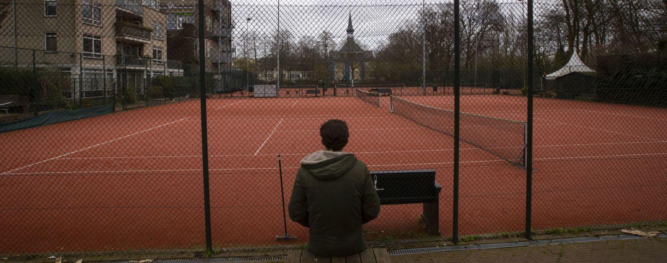 Без ґрунту. У тенісі скасували всі турніри до початку літа
