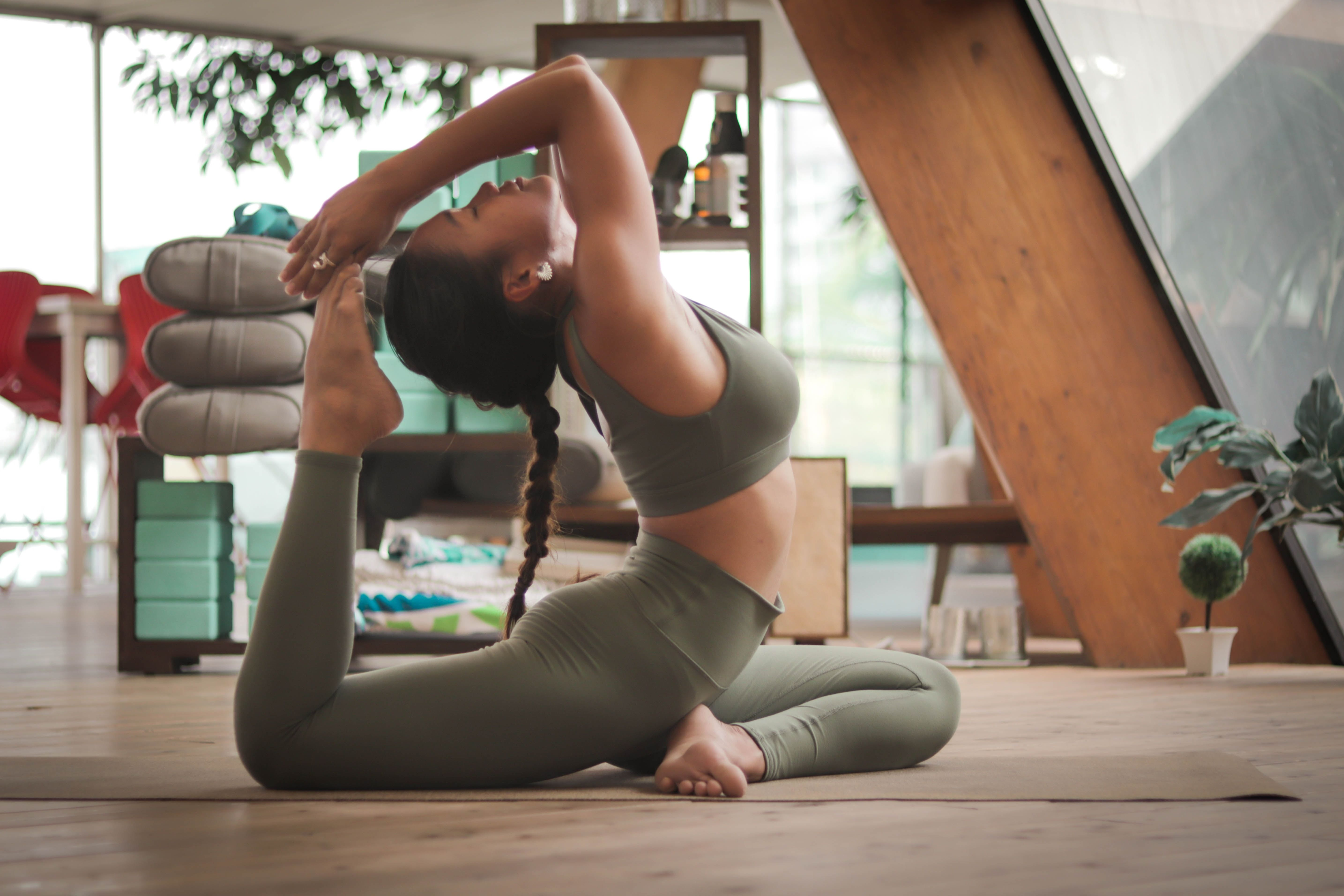 Спорт, йога
