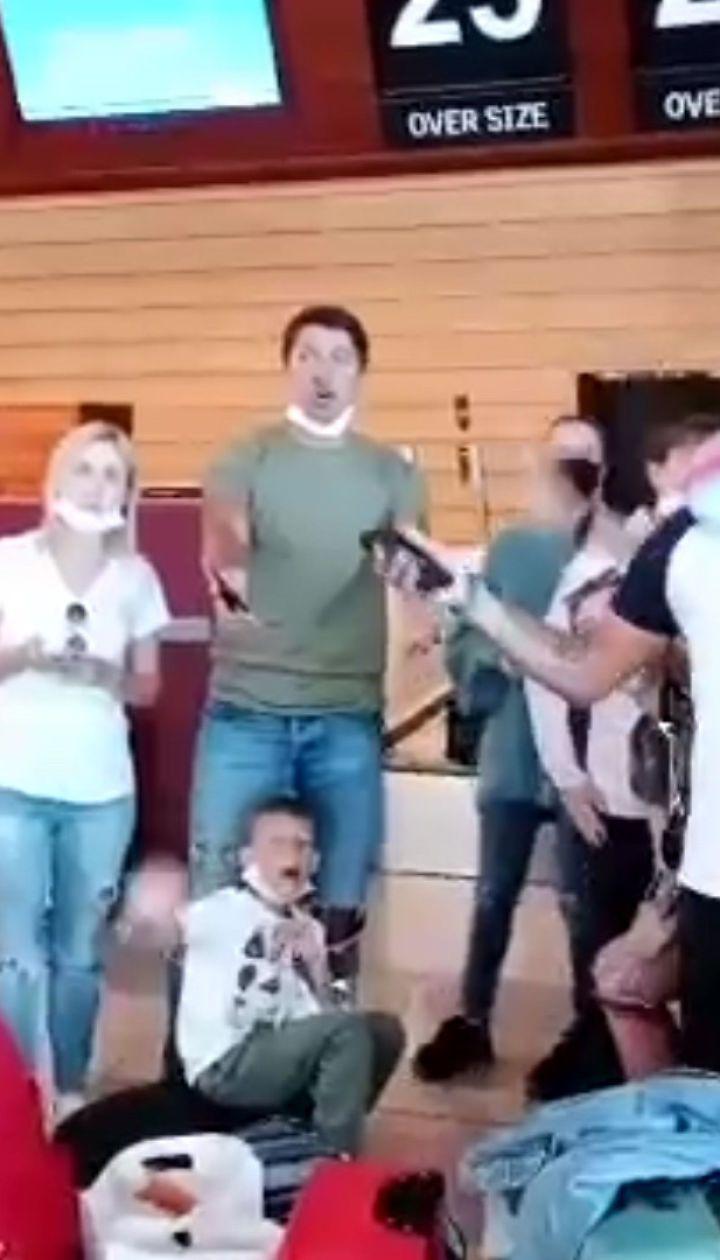 Украинцы застряли в Хургаде