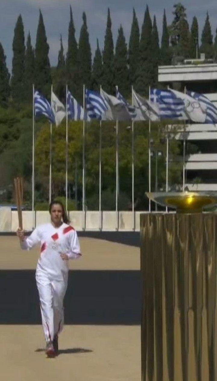 Пламя надежды: Греция передала олимпийский огонь Японии