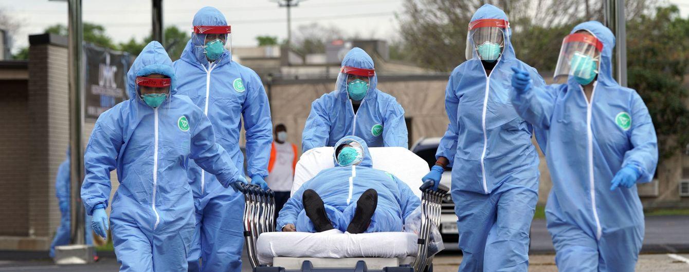 Количество инфицированных коронавирусом перевалило за 1,2 млн людей