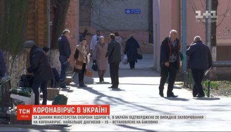 Коронавирус обнаружили у еще пяти жителей Черновицкой области