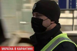 На въездах в Киев установили восемь карантинных блокпостов