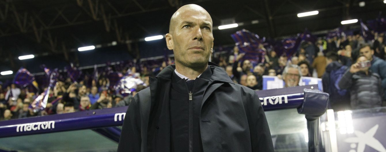 """Приціл на наступний сезон. """"Реал"""" в жодному разі не звільнить Зідана влітку"""