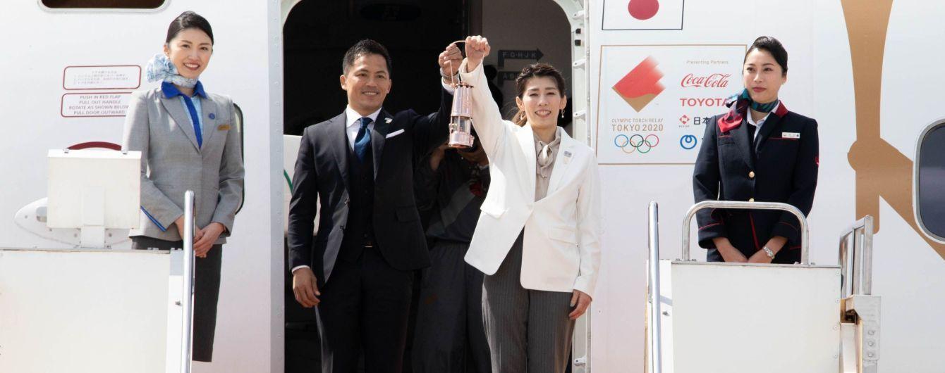 Олімпійський вогонь Ігор-2020 доставили в Японію
