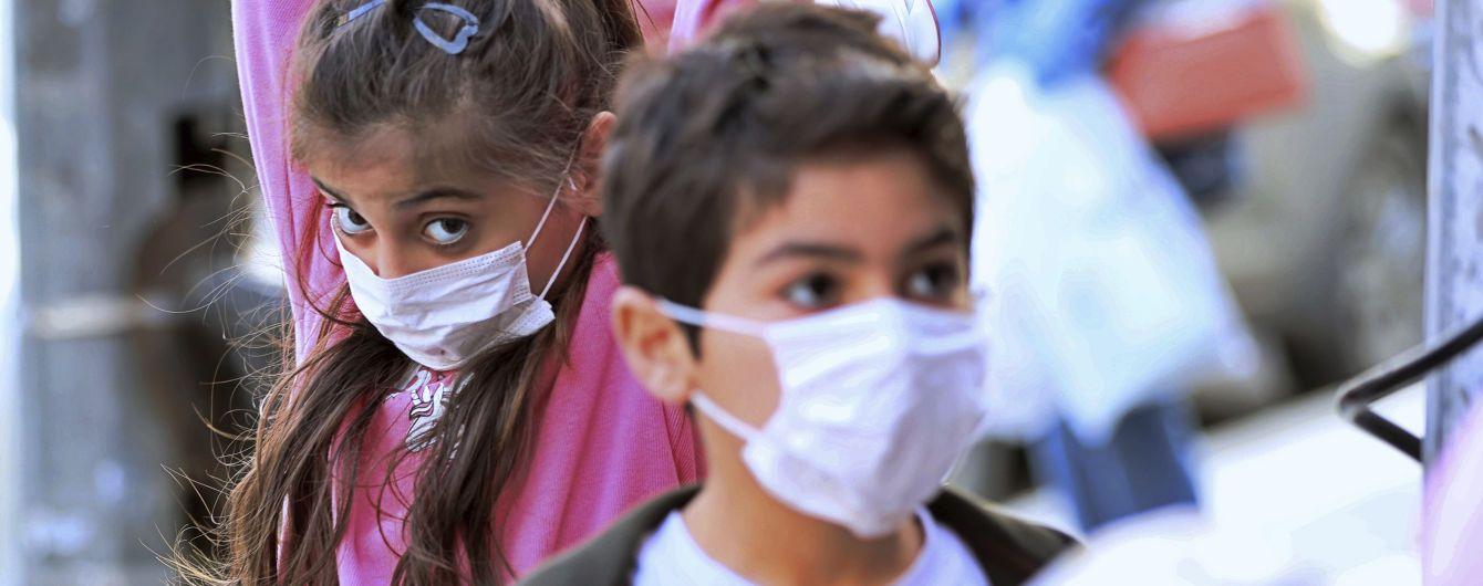В Украине 145 детей инфицированы коронавирусом