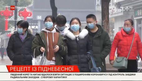 Як Південній Кореї та Китаю вдалося взяти ситуацію з поширення коронавірусу під контроль
