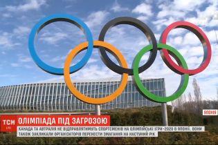Из-за коронавируса Канада и Австралия не будут отправлять спортсменов на Олимпийские Игры