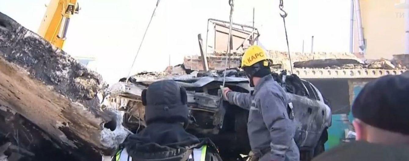 У гаражному кооперативі Києва пролунав потужний вибух