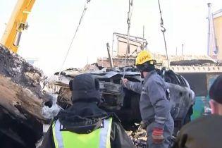 В гаражном кооперативе Киева прогремел мощный взрыв