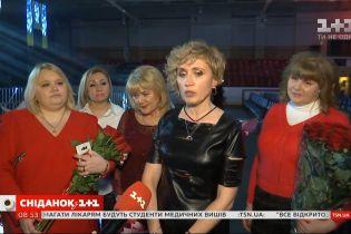 Участницы фан-группы Олега Винника смогли попасть на репетицию концерта певца