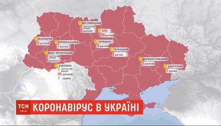 За добу в Україні виявили 26 нових випадків коронавірусу