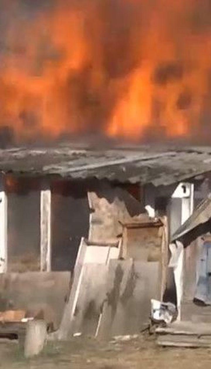 На столичній Троєщині сталася пожежа – обійшлося без постраждалих