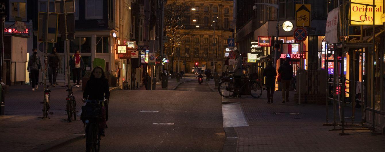 Нідерланди заявили про найвищий добовий приріст заражень коронавірусом від квітня