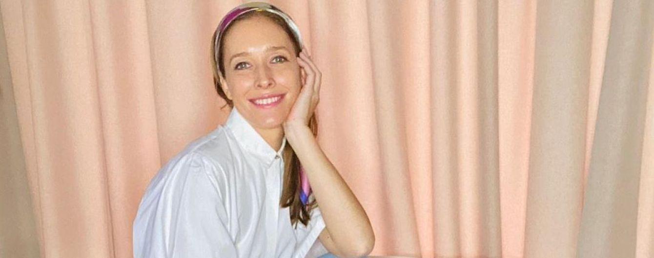 Следит на стилем на карантине: Катя Осадчая продемонстрировала новый образ