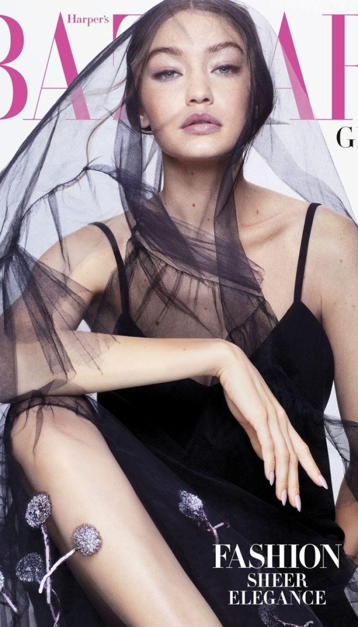 Джиджи Хадид для Harper's Bazaar US