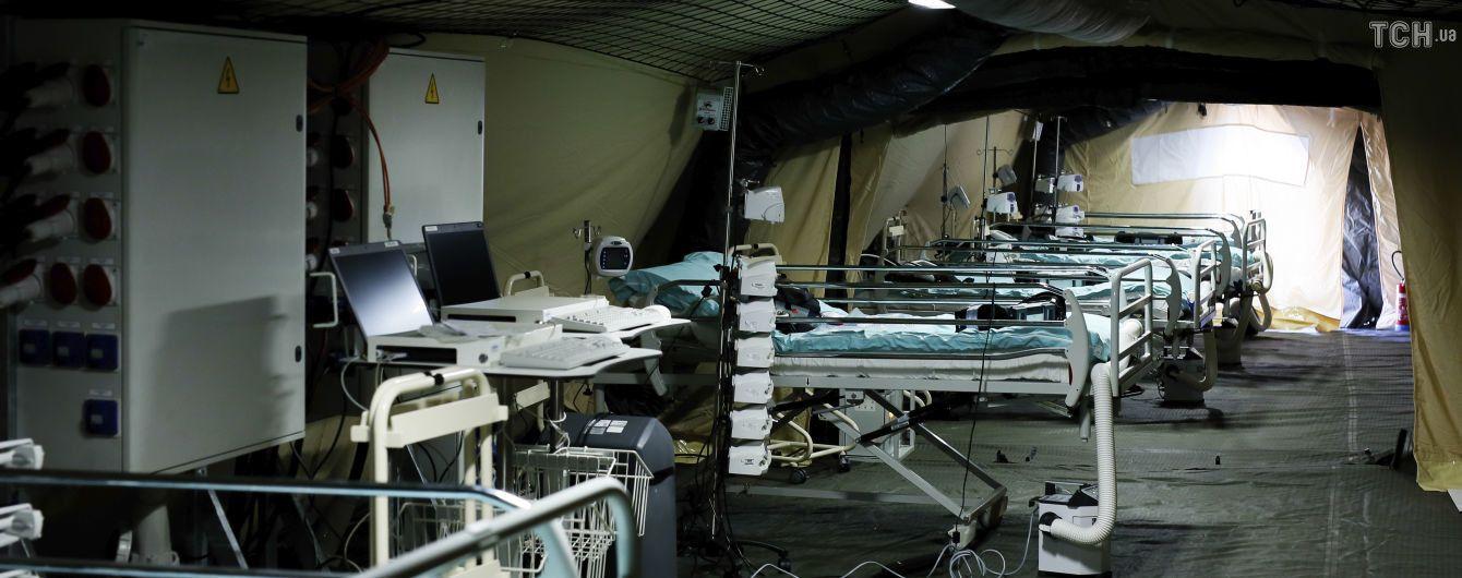 Во Франции тест на коронавирус делают только тяжелым пациентам