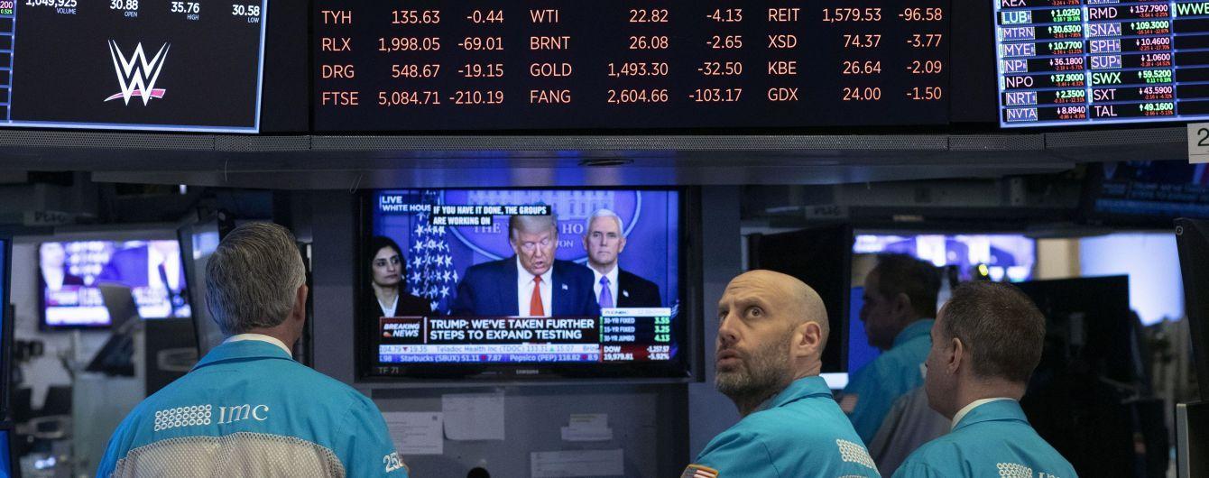 Коронавірусна фінансова криза: американський та європейські фондові ринки значно зросли