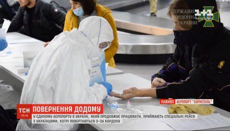 """В аеропорту """"Бориспіль"""" приймають спецрейси з українцями, які застрягли за кордоном"""