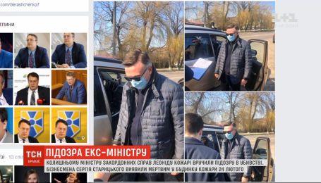 Экс-министра МИД подозревают в убийстве бизнесмена Старицкого