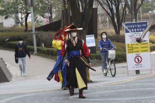 Понад пів сотні заражених за добу: у Південній Кореї коронавірус продовжує поширюватися за межами столиці