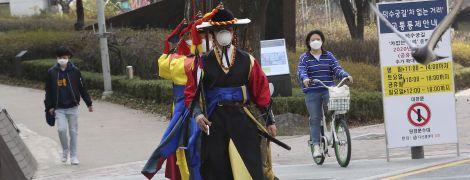 Інфекція йде на спад: у Південній Кореї за добу зафіксували менше пів сотні випадків коронавірусу
