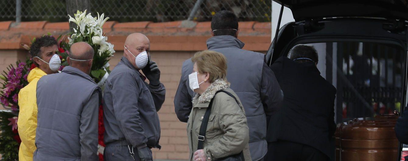 В Іспанії жертвами коронавірусу стали вже понад 4 000 людей