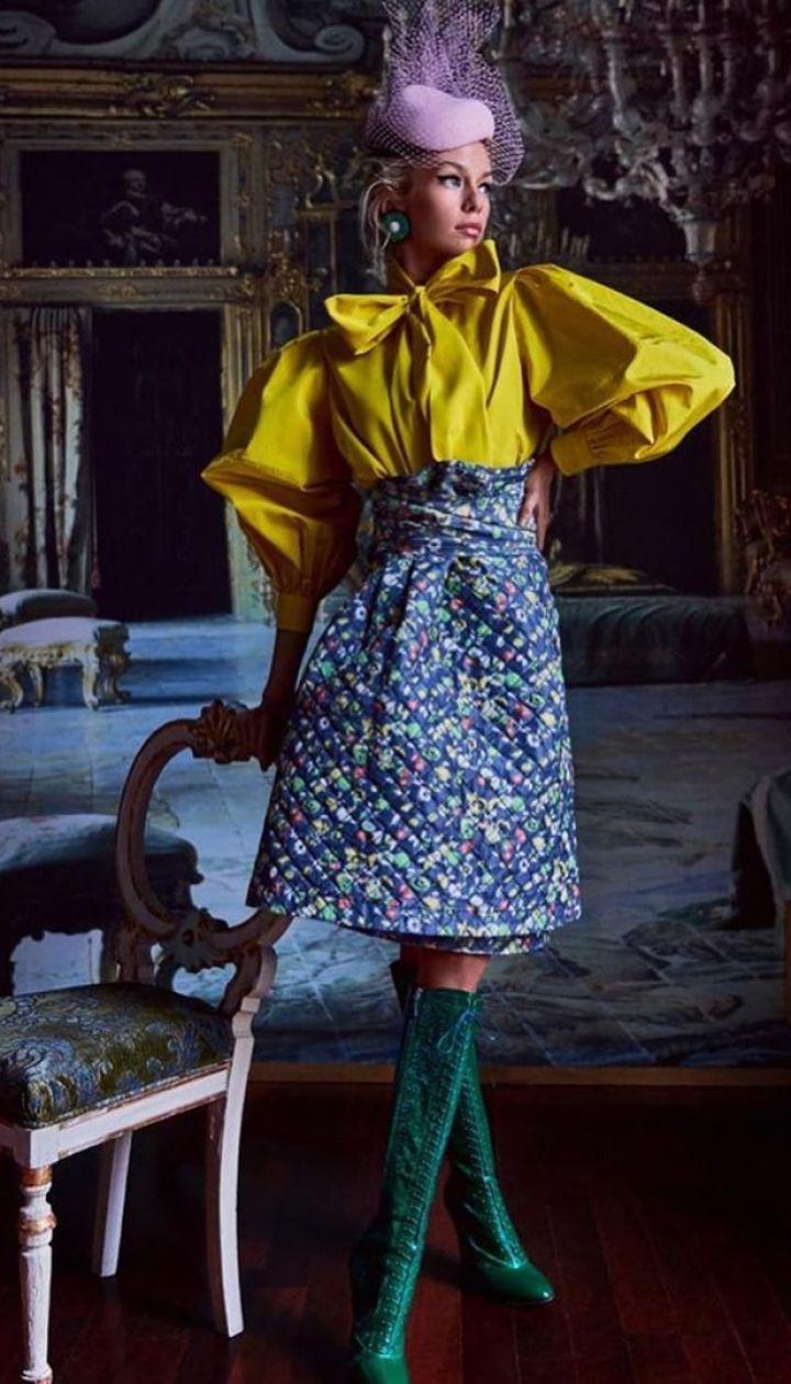 Стелла Максвелл в фотосете для Vogue Japan