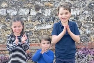 """""""Усім спасибі"""": Кембриджі разом з дітьми взяли участь у новому флешмобі"""