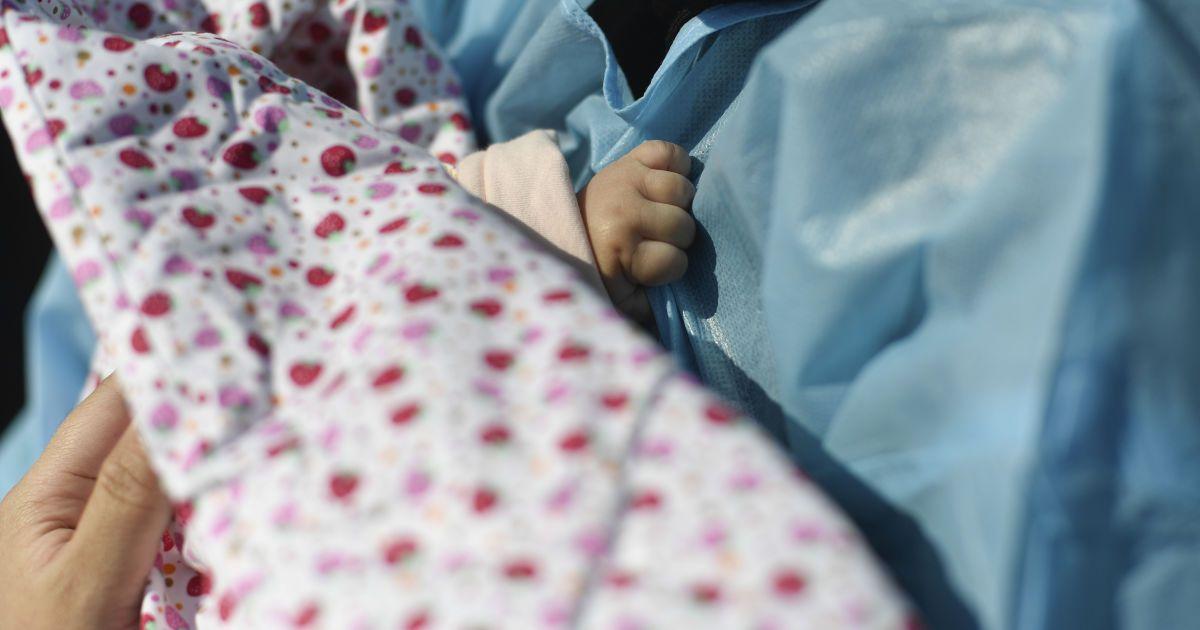 В Запорожской области коронавирус обнаружили у младенца