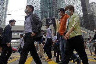 У Гонконзі зафіксували рекордне збільшення кількості випадків коронавірусу за один день