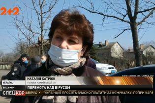 В Черновцах от коронавируса выздоровели трое взрослых и один ребенок