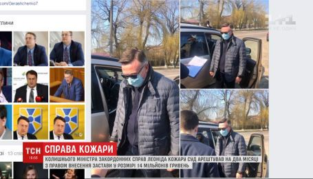Суд заарештував ексміністра закордонних справ Леоніда Кожару на два місяці
