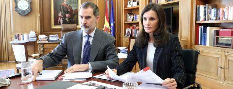 """""""Дистанційка"""" по-королівськи: іспанські монархи Летиція і Філіп показали, як працюють вдома"""