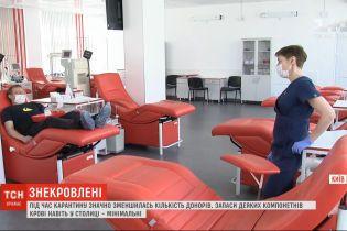 Як Київський міський центр крові заохочує донорів здавати кров, попри карантин