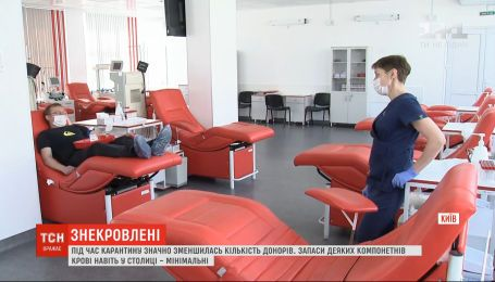 Как Киевский городской центр крови поощряет доноров сдавать кровь, несмотря на карантин