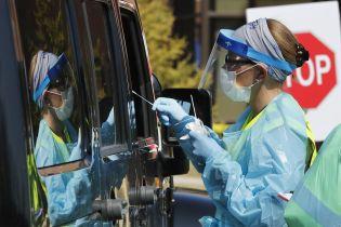 Перший американський штат зафіксував понад три мільйони випадків зараження коронавірусом