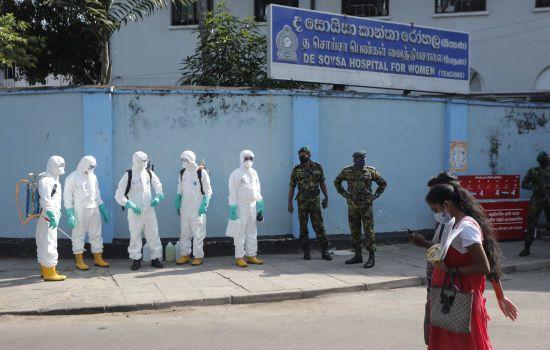 Коронавірус на Шрі-Ланці: поліція затримала тисячі порушників комендантської години