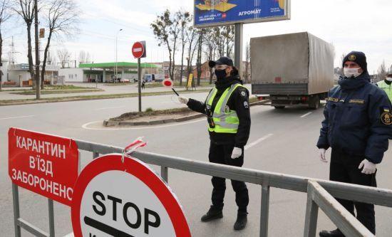 Карантин через коронавірус: у Вінниці обмежили в'їзд до міста, вимірюють температуру та дезінфікують авто