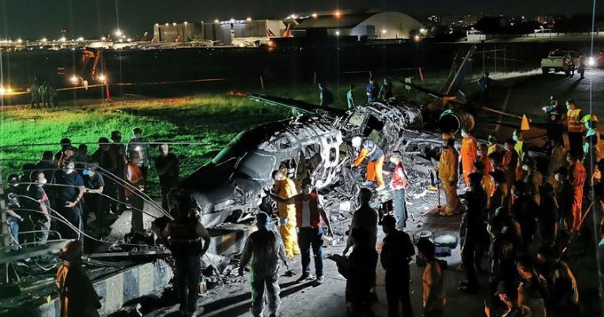 На Филиппинах разбился самолет с медицинским грузом: все пассажиры пог
