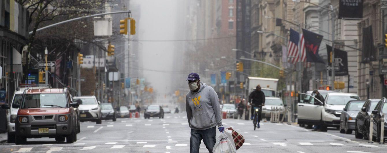 В Нью-Йорке сообщили о суточном антирекорде смертности от коронавируса