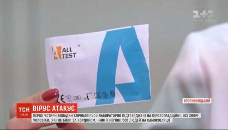 Коронавирус добрался географического центра Украины - в Кропивницком4 больных коронавирусом